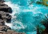 """7 13 kauai blue pool (ld photography 12) Tags: ocean trees sea seascape nature water landscape hawaii rocks whitewater surf kauai lavarocks turquoisewater """"flickrtravelaward"""""""
