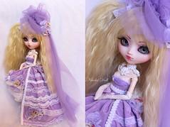 """Pullip FC """"Kiara"""" by Nikolaï Doll (Nikolaï Doll) Tags: new flower outfit purple handmade ooak pullip custom fc kiara 2013 bynikolaïdoll"""