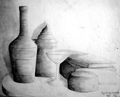 "Still Life pencil exercise • <a style=""font-size:0.8em;"" href=""https://www.flickr.com/photos/78624443@N00/9758470046/"" target=""_blank"">View on Flickr</a>"