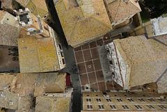 Pienza Piazza Pio II - N323r (opaxir) Tags: pienza piazzapioii aerial tuscany toscana senese italy bap sony distagon1228touit touit 12mm zeiss
