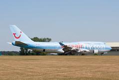 TF-AMG Kemble 19/07/2013 (86501) Tags: corsair boeing 747 kemble b747400 egbp tfamg