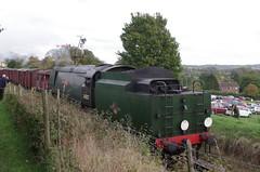 IMGP3293 (Steve Guess) Tags: uk england train railway loco hampshire steam gb locomotive tornado alton brittania braunton m4m ropley 70000 alresford 34046 60163