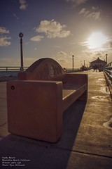 Empty (RyDizy) Tags: life art love canon bench photography empty manhattanbeach southbay t3i manhattanpier uploaded:by=flickrmobile flickriosapp:filter=nofilter