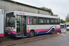 46316 - M316 YOT (Solenteer) Tags: pointer dennis dart fareham 316 plaxton 46316 firsthampshiredorset southamptoncitybus hoeford m316yot