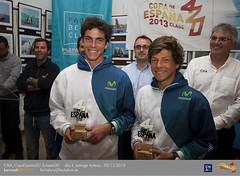Santi y Luis Mas, subcampeones de la Copa de España de 420