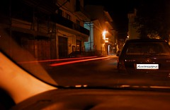 Waiting Alepo (Aurorasogna Mila) Tags: light car night mila luci macchina notte stefano scie aurorasogna