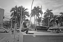 texting (Stitch) Tags: philippines manila cubao texting streetshot