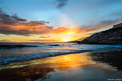 Sunset in Salou (aldairuber) Tags: sunset atardecer mediterraneo puestadesol ocaso tarragona mediterraneansea salou goldcoast costadorada twitlight potd:country=es