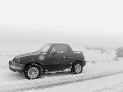 nieva (Ernesto Ordaz Juan) Tags: 4x4 nieve tormenta suzuki vitara x90 suzukix90 suzukivitarax90