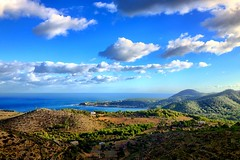 (CatMilton) Tags: winter espaa mountain seascape landscape coast spain mediterranean ibiza eivissa baleares iphone balearics iphone4s uploaded:by=flickrmobile flickriosapp:filter=nofilter