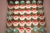 Ho Ho Ho... (Little Cottage Cupcakes) Tags: santa christmas snowflakes cupcakes mini santaclaus schoolparty littlecottagecupcakes