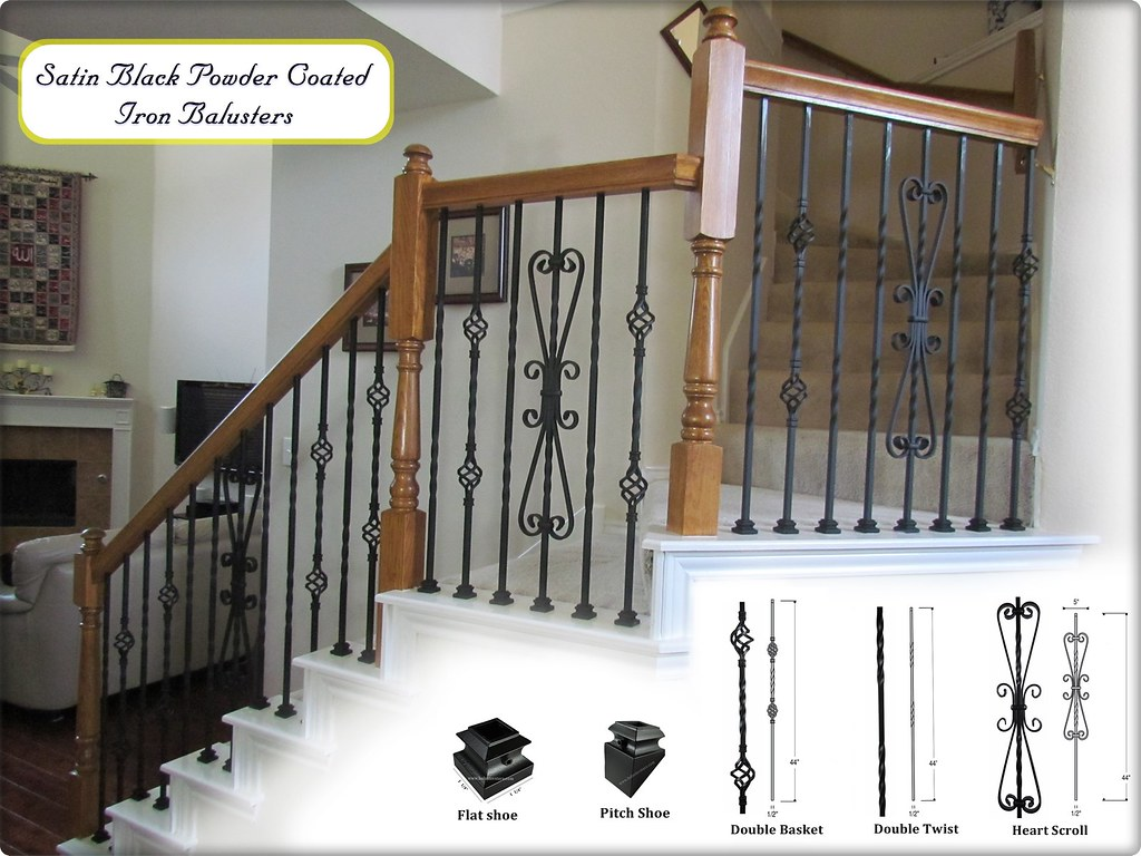 Home remodeling accessories stair balusters Tags building home metal stairs for iron stair