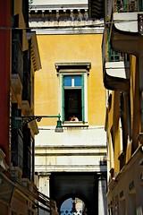 Love is in the air (Eberardo) Tags: city summer house love window happy couple zomer huis liefde stad raam stelletje geluk