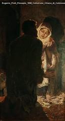 Eugenio Prati Presepio 1898 Collezione Chiesa di Caldonazzo