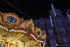 (Fernando Albornoz) Tags: madrid christmas urban lights navidad luces noche plazamayor tiovivo fotografiaurbana ambientenavideo