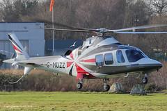 G-MUZZ - 2013 build Agusta-Westland AW109SP Grand New, arriving via Runway 02 at Barton (egcc) Tags: new manchester grand helicopter 25 barton westland agusta cityairport a109 22325 egcb aw109sp pw207c hagondale