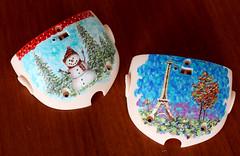 parisbackplate (Beyourdolls) Tags: art doll ooak fantasy mohair bjd blythe custom pinkhair beyourdolls