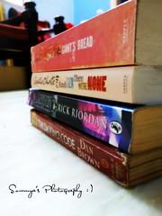 Books books books... (Saro (Sowmi) :)) Tags: books stack
