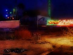Empty Chair - Hell Hölle - Turbo - Bonanza -- Burnt Down Grillroom at the Amusement Park Prater January 2014 - Abgebranntes Grillrestaurant, Wiener Wurstlprater (hedbavny) Tags: vienna wien winter night square restaurant austria österreich chair closed nacht seat hell grill trümmer turbo burnt damage offseason amusementpark popular brand funfair 1020 verbrannt burned prater griller hölle sessel bonanza quadrat brache leopoldstadt brach outofseason vergnügungspark zerstörung wurstelprater geschlossen unorthodox 2bezirk abgebrannt lowseason volksprater pleasureground grillrestaurant wienerprater nebensaison brandruine wurschtlprater 1020wien gstetten hedbavny ingridhedbavny