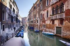 Venice - Canal scene 2 (Mathew Roberts) Tags: venice italy water boats canal italia roberts venezia mathew mathewroberts