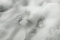 Jewellery (Karolis Milasevicius) Tags: macro water diamonds studio engagement nikon smoke ring jewellery commercial d3 alienbees