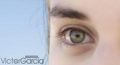 Eye (photo_vg) Tags: sky woman green eye art love beach girl beautiful beauty face happy ojo photography photo nice model nikon pretty photoshoot venezuela like playa bella nikkor vg happines nikonista d5100 photovg