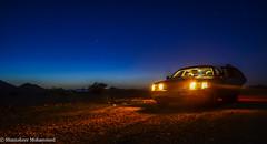 Crown Victoria (cheruvadiyan) Tags: light sky ford lamp car night stars al nikon long exposure victoria madina saudi arabia medina crown  ula     khaybar   d7000