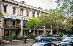 Milton Terrace (c. 1880), view 01, 1-19 Lower Fort St, Millers Point NSW 2000, Australia (lumierefl) Tags: new building architecture terrace 19thcentury sydney australia newsouthwales verandah residential rowhouse millerspoint 1830s