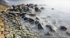 The rocks at the river side (Long Exposure) (PvRFotografie) Tags: longexposure holland nature water zeiss river rocks nederland natuur nd za rivier carlzeiss sterren hoeksewaard variosonnar247028za lightcraftworkshop variosonnart28222470 variosonnartdt28222470 lightcraftworkshopfaderndmkii