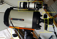 "11"" Celestron Edge HD & AT65EDQ (Chuck Manges) Tags: edge hd celestron at65edq qhy9m cgemdx qhy5lii"