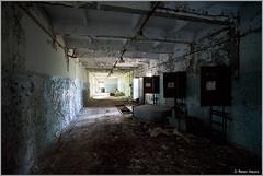 Duga-3 Corridor (Peter Heuts) Tags: photography woodpecker fotografie object secret military sony ukraine full peter 99 soviet frame alpha russian radar zone chernobyl exclusion oth tsjernobyl a99 oekraïne overthehorizon дуга heuts peterheuts duga3 russianwoodpecker doega3 дуга3