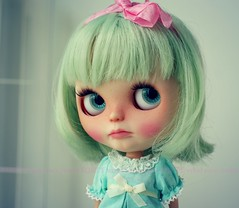 A Doll A Day. May 14. Je T'aime.