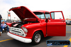 1957 Chevrolet (-1badgmc-) Tags: show chevrolet up car truck pickup chevy pick stepside