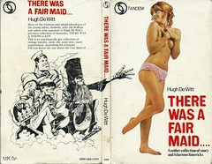 There Was a Fair Maid.... (Covers etc) Tags: girl book design legs paperback cover topless 1960s