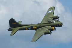 Boeing B-17G Flying Fortress - 8 (NickJ 1972) Tags: anniversary aviation airshow b17 duxford boeing dday flyingfortress dfa 2014 sallyb memphisbelle gbedf 124485