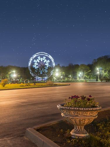 Центральный парк, новые атракционы