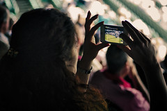 Centre Court through an iPhone (Mike Pearce Photography) Tags: portrait people london face hat sport scarf court tickets carr legs zoom flag jimmy crowd line 300mm binoculars telephoto seats boris judge cheers celeb wimbledon vignette hdr novak tenniscourt facetime ballboy zoomlens iphone becker crowdshot selfie feetup centrecourt longlens borisbecker ballgirl jimmycarr linejudge wimbledontennis tenns wimbledonchampionship whatsapp novakdjorkovic