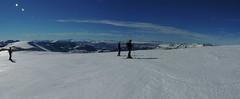 Panorama Vista Lonquimay (Mono Andes) Tags: chile panorama ski andes invierno skitour esqu randonn chilecentral regindelaaraucana cordilleralasraces
