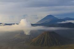 Bromo volcano (Harri Knarpuu) Tags: nature indonesia landscape volcano java bromo