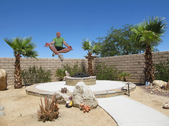 June 17, 2014 (1) (gaymay) Tags: california gay love happy desert palmsprings floating peaceful palmtrees triad junephotochallenge