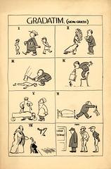 University of Liverpool Medical Students graduation dinner card cartoon 1926 (liverpoolhls) Tags: history students liverpool cartoon medicine 1926