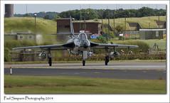 Hawker Hunter at RAF Waddington Airshow 2014 (Paul Simpson Photography) Tags: speed airplane aircraft aeroplane ontheground hawkerhunter photosof imagesof sonya77 paulsimpsonphotography july2014 rafwaddingtonairshow2014