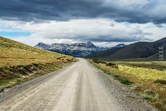 to Laguna Azul (J.K.E.B Elena B) Tags: sky patagonia mountains southamerica nature nationalpark nikon natureza roadtrip torresdelpaine montaas sudamerica chlile