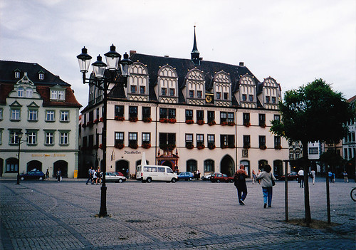 Naumburg főtere