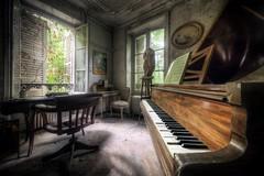 (satanclause) Tags: abandonn manoir abandoned manor house villa oputn dm panstv klavr piano urbex hdr france