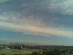 Sydney 2016 Oct 21 08:58 (ccrc_weather) Tags: ccrcweather weatherstation aws unsw kensington sydney australia automatic outdoor sky 2016 oct earlymorning