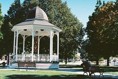 Barre Town Park (Nsharp17) Tags: nikon nikonfe film 35mm kodak ektar ektar100 gazebo park barre vermont