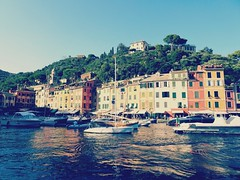 Portofino (France-) Tags: 1910 portofino liguria italy water waterfront europe bateau boat