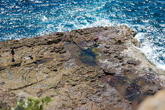 Down there (Rubn Vilches) Tags: jervis bay rock