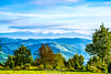 De la pensiunea Panorama 2 (Ghelari)... (Don Costello) Tags: cer nikon d3300 albastru munti retezat ghelari transilvania romania toamna autumn